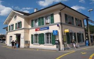 Cossonay (VD) - Gare