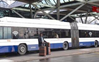 Genève TPG Remisage bus